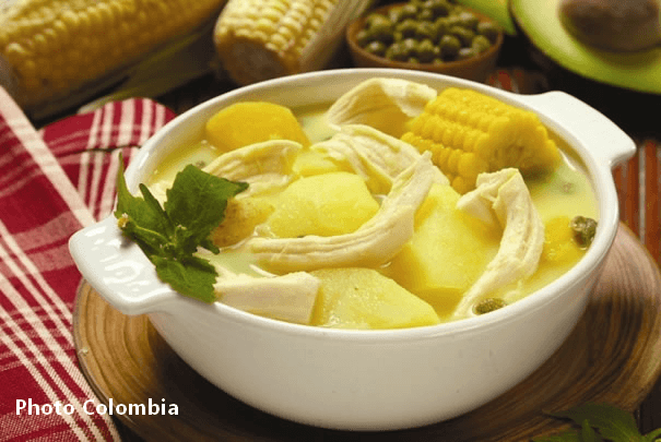 Les bonnes étapes Gastronomiques de la Colombie, Antioquia.