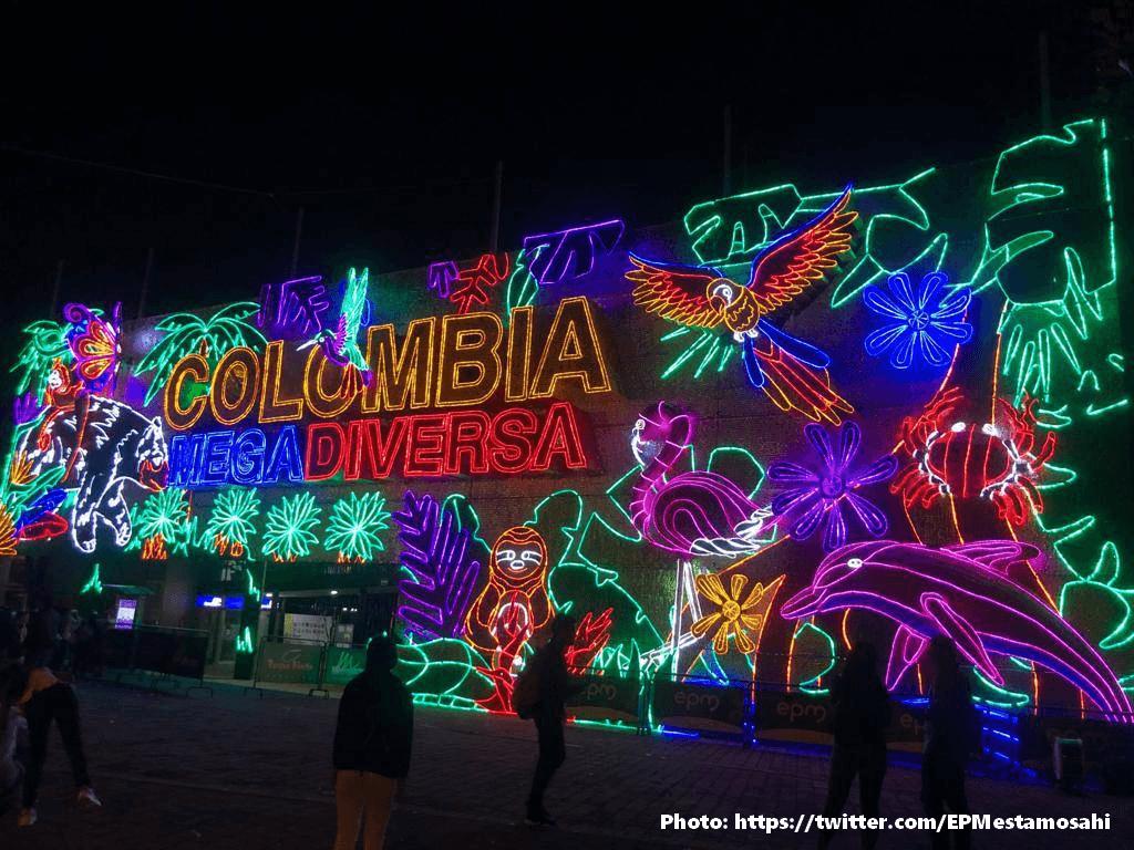 Los Alumbrados de Noël de Medellín