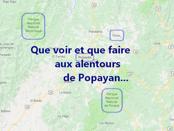 Que voir et faire dans les alentours de Popayan